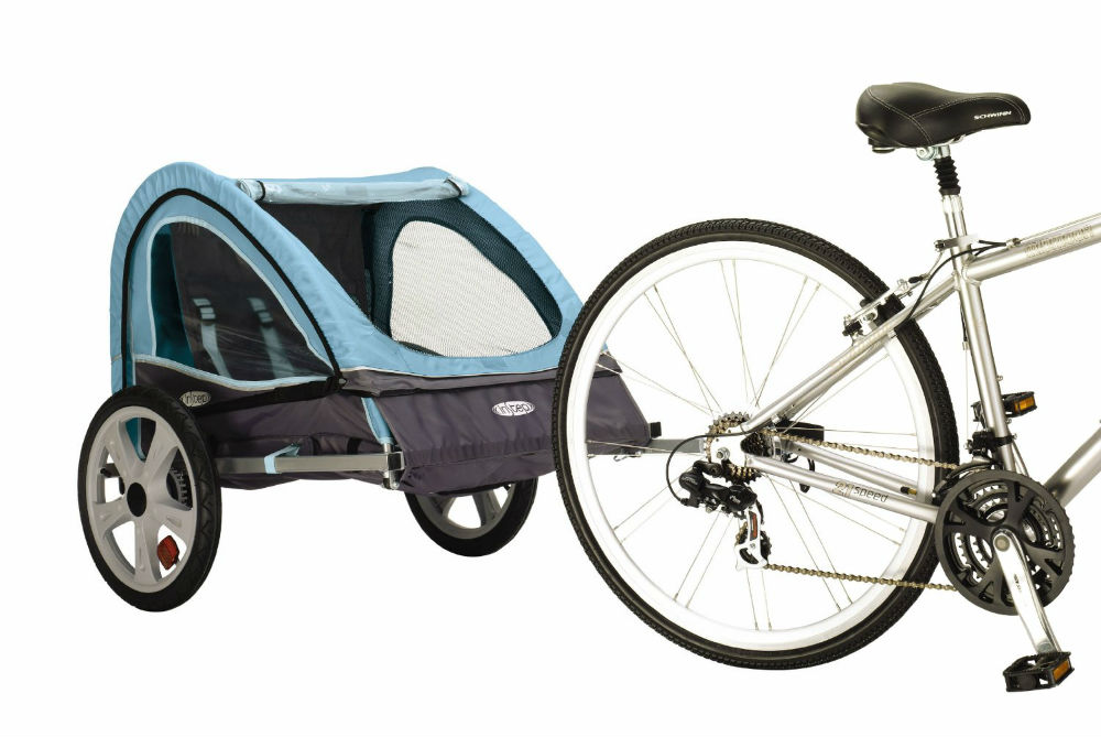 Pacific Cycle Instep Take 2 Double Bicycle Trailer Review The Bike